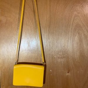Plain yellow H&M crossbody